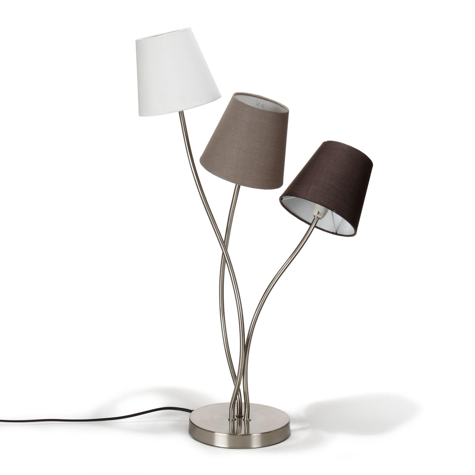 Alinea Luminaire Salon : lampe 3 lumi res h74cm en acier sewal les lampes poser luminaires salon et salle manger ~ Teatrodelosmanantiales.com Idées de Décoration