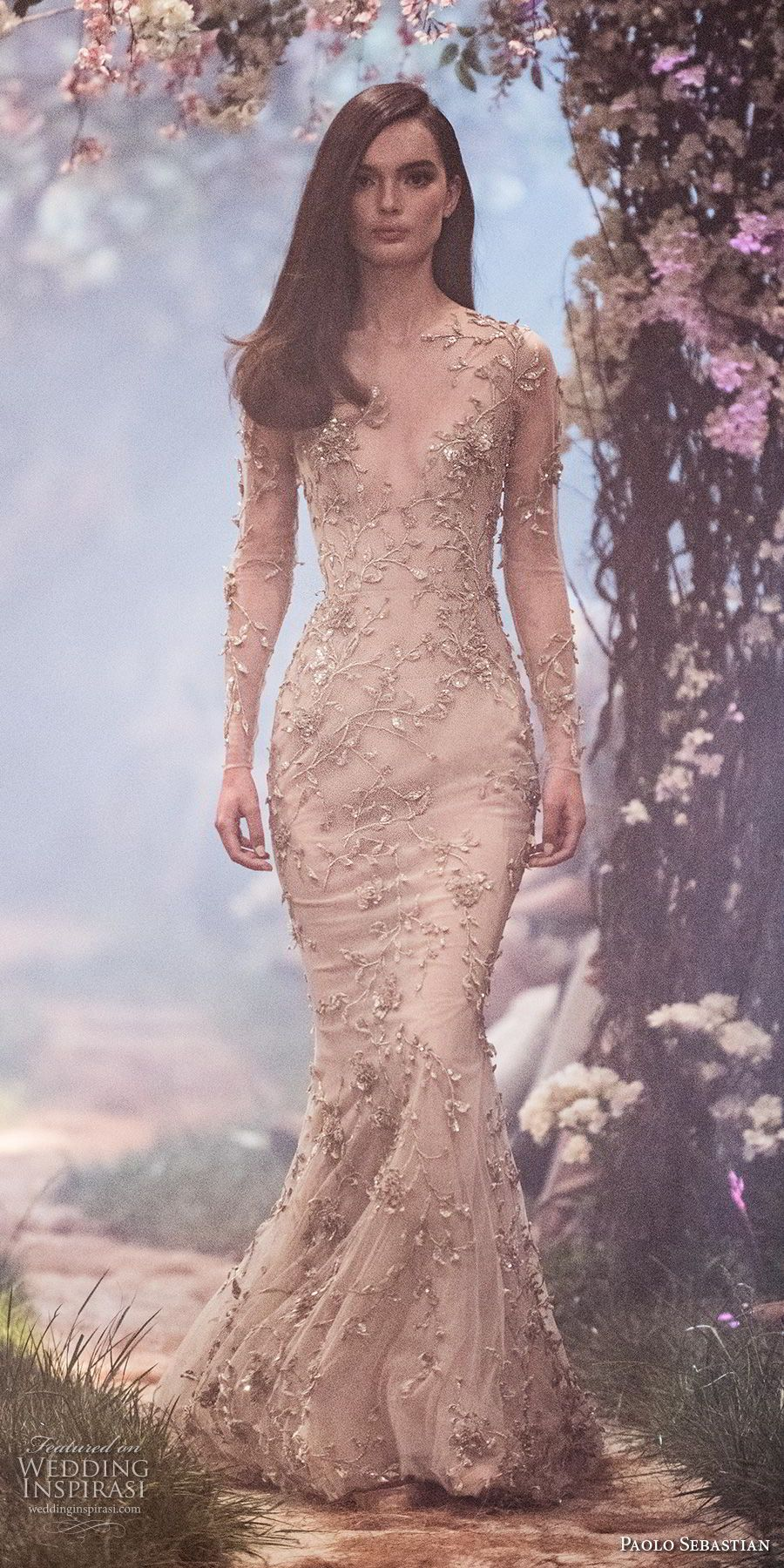 """Paolo Sebastian Spring 2018 Couture Collection — """"Once Upon A Dream ..."""