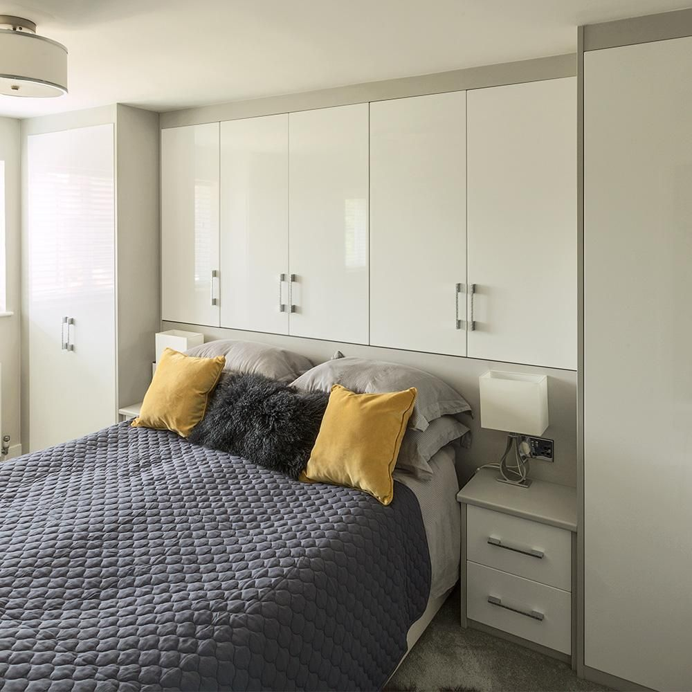 Maximising space with clever overbed storage | Bedroom bed design, Bedroom  interior, Indian bedroom decor