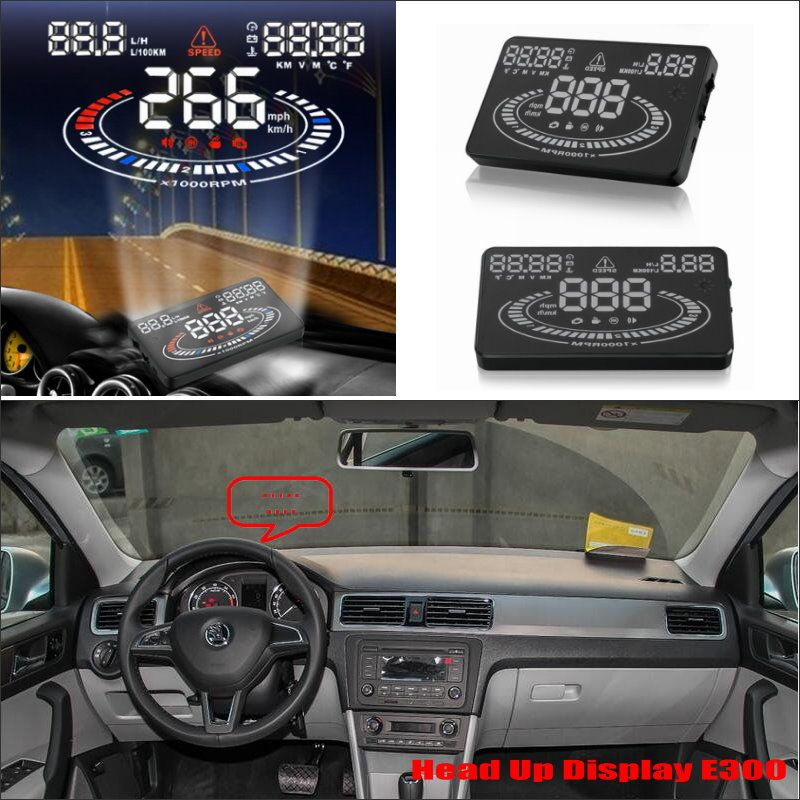 For Skoda Rapid Hatchback Liftback 20132015 Car HUD