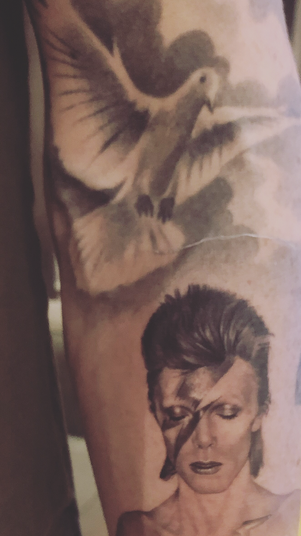 David Bowie Aladdin Sane Tattoo Tattoos Tattoos Aladdin