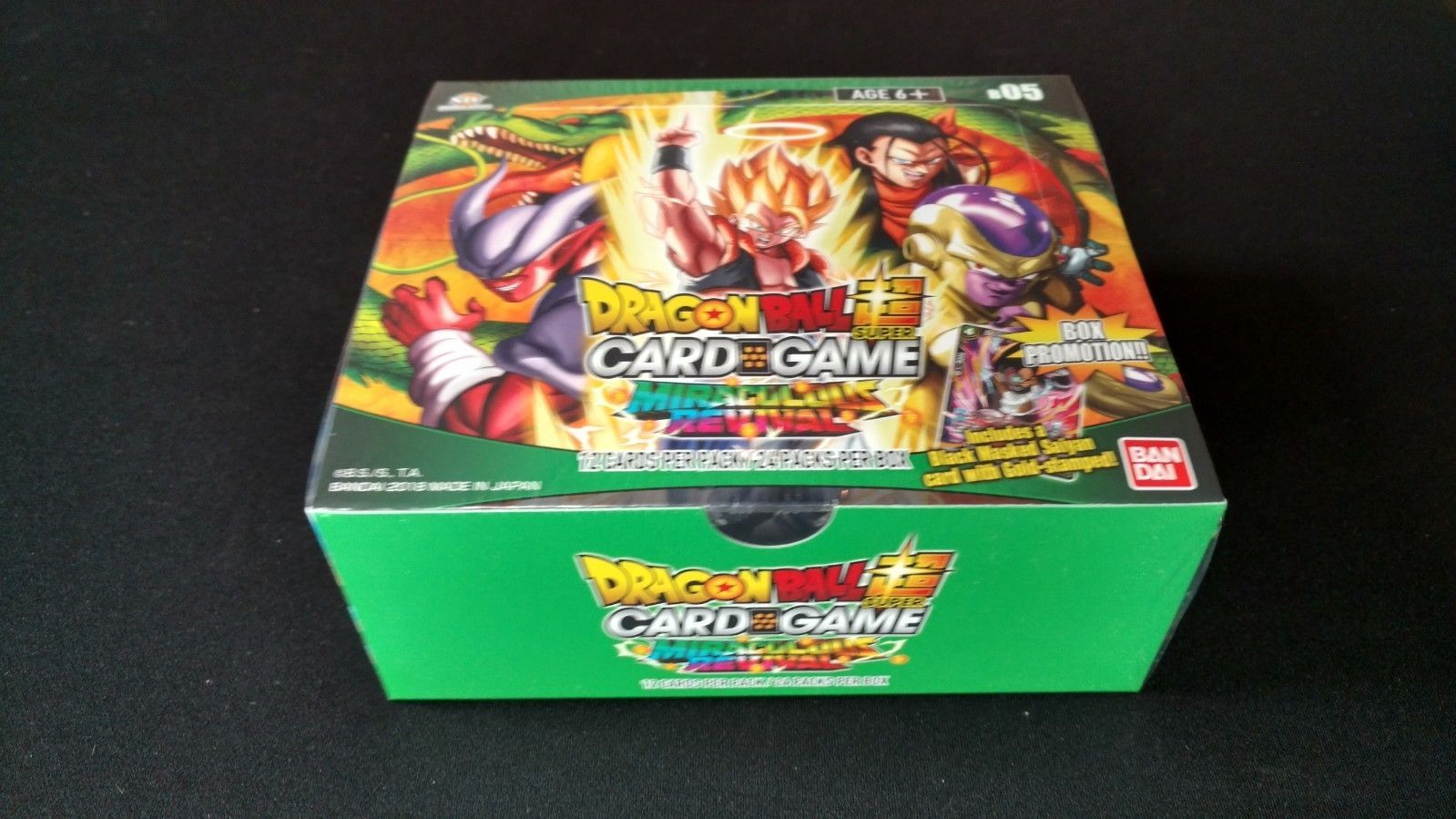 DRAGONBALL SUPER TCG-Miraculous revival Booster Display-inglese