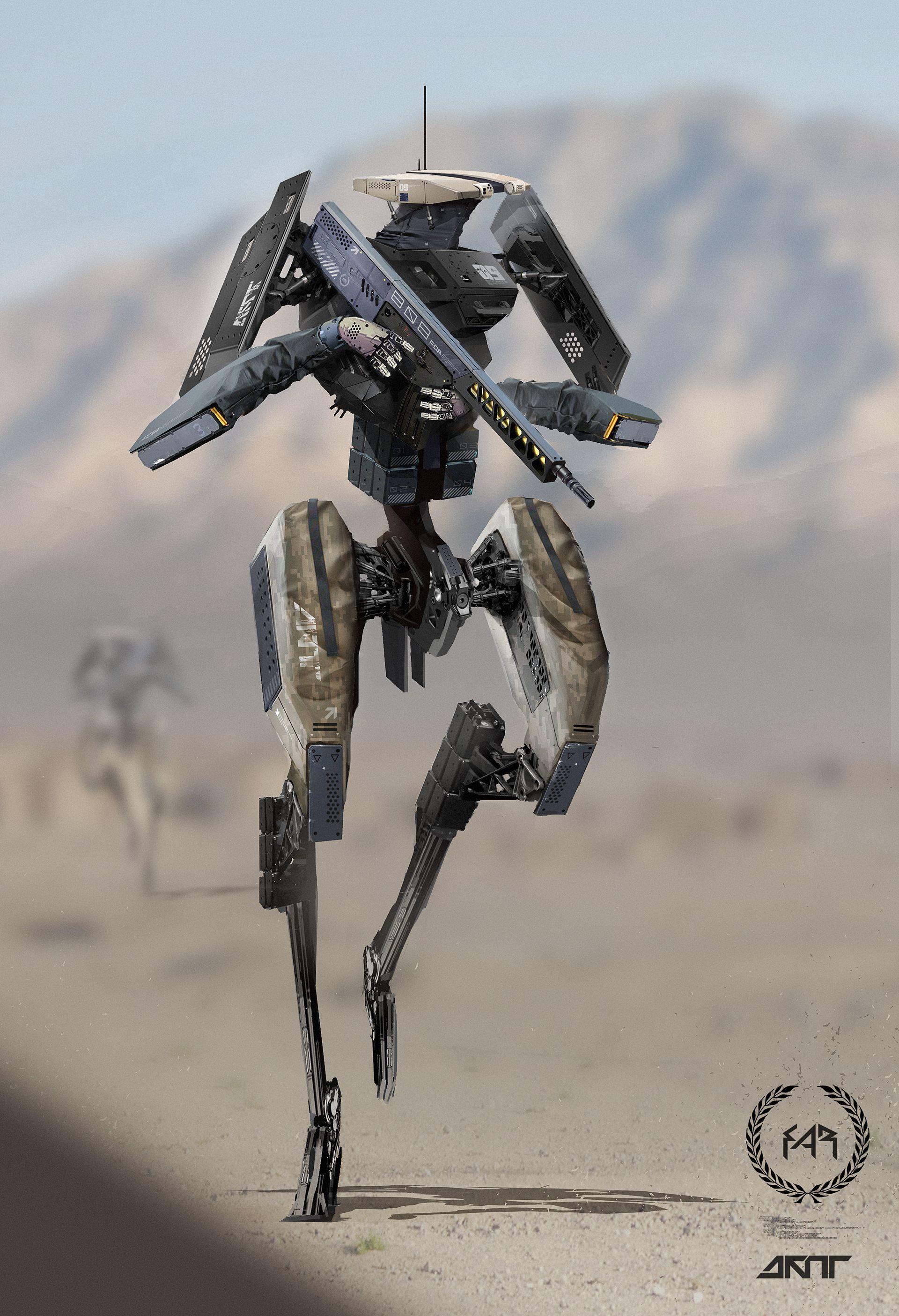 Nyaahh, He-Man, Nyaahh   Arte robot, Arte de ciencia ...  Science Conceptual Illustration