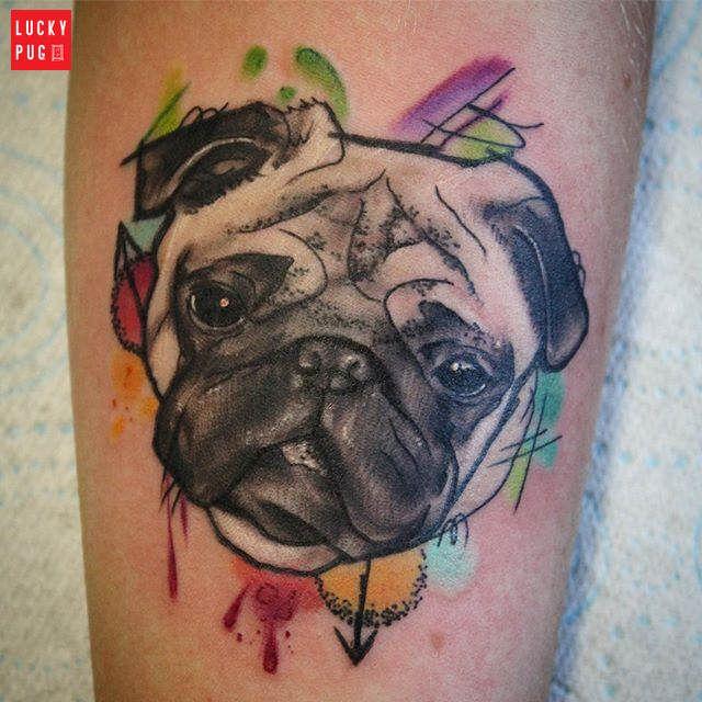 Pug Tattoo Gallery Pug Tattoo Dog Tattoos Animal Tattoos
