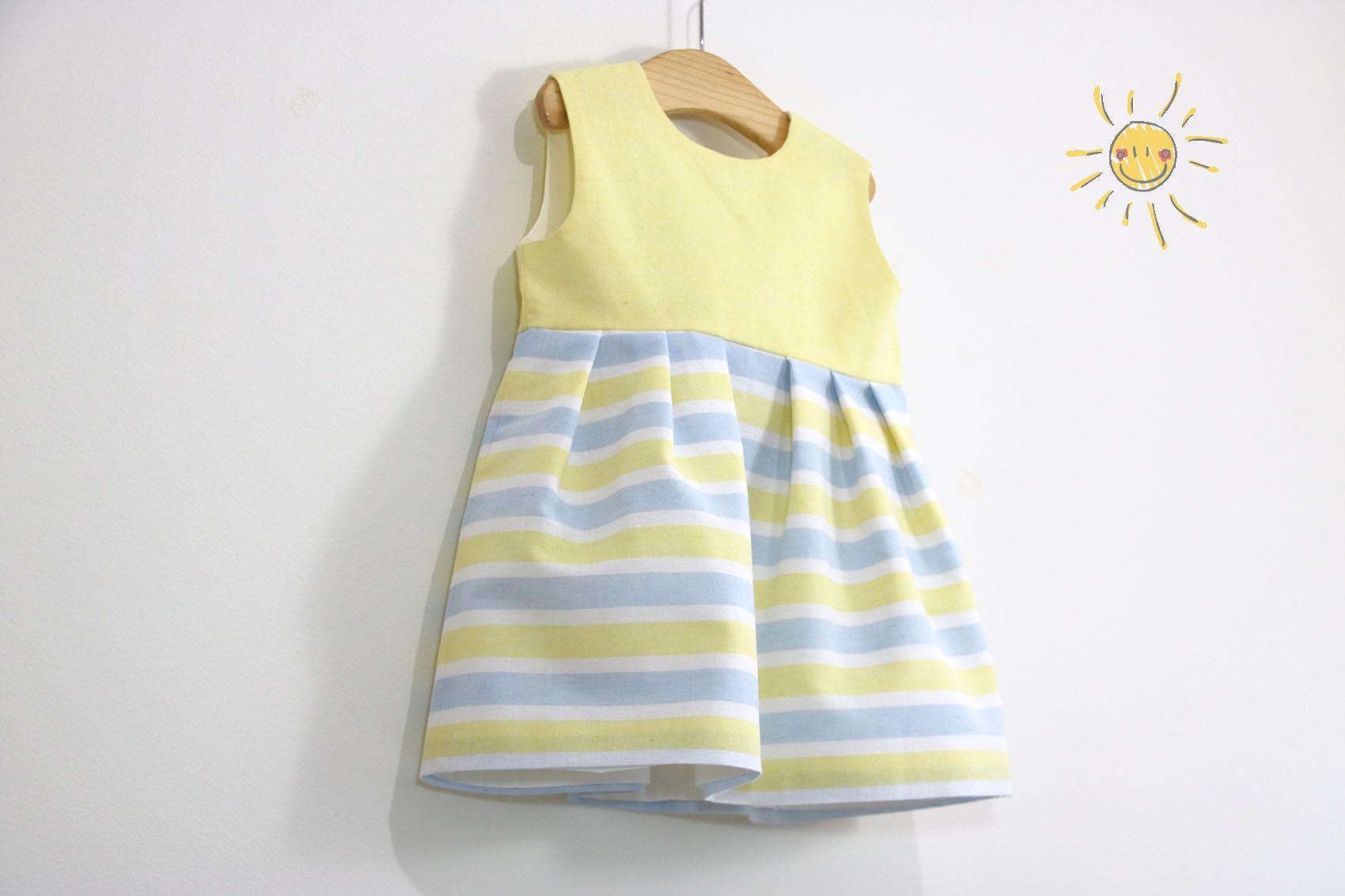 Costura: Vestido niña (patrones gratis talla hasta 8 años)     Oh ...