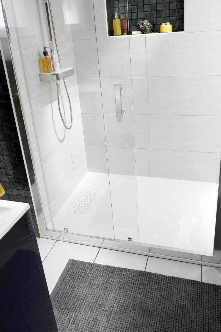 Optimize Space In A Small Bathroom With The Vogue Sliding Shower