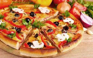 طعام ايطالى اسهل طريقة عمل بيتزا نابوليتانا Delicious Pizza Healthy Pizza Vegetable Pizza