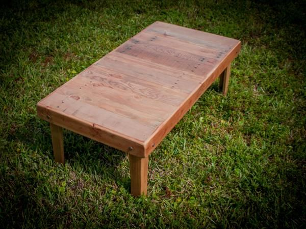 DIY Pallet Coffee Table / Living Room Table | Pallet Furniture DIY