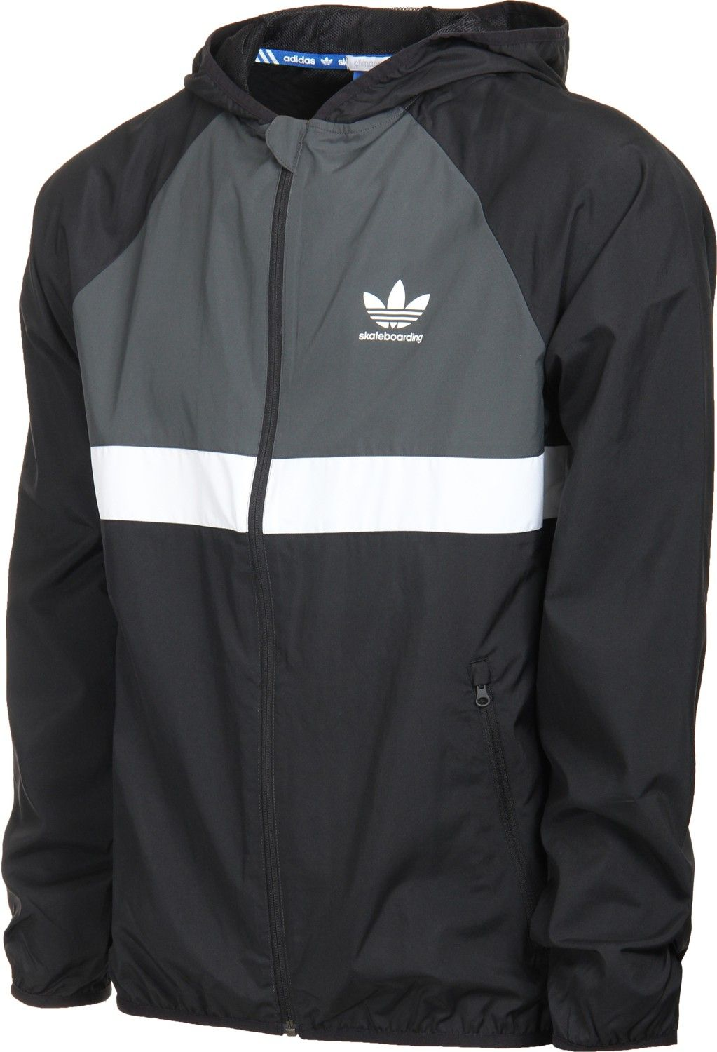 Adidas ADV Packable Windbreaker - black - view large   Wanted ... e229652ffdd4