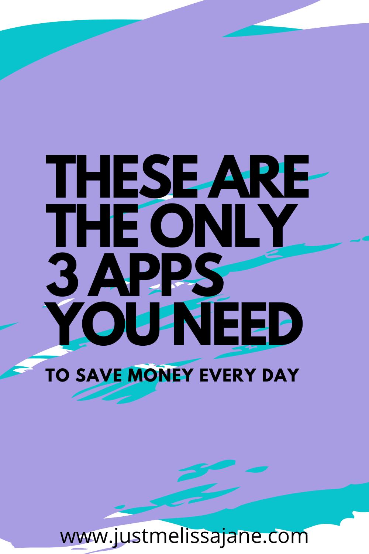 Top 3 Money Saving Apps in 2020 Money saving apps