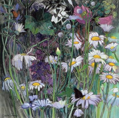 Fine Art Print of The White Garden by Claire Spencer