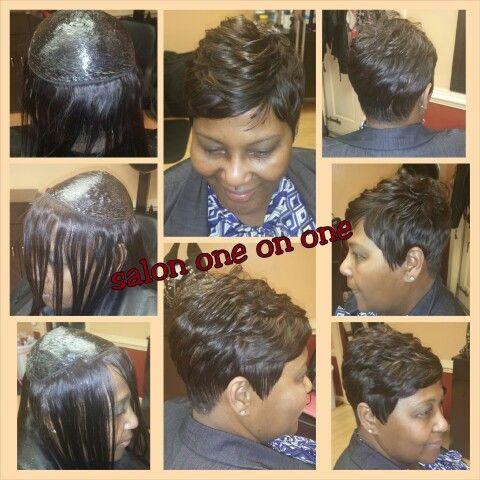 Hard Wrap Done On Thinning Hair Call Venessa 757 289 9921 Short Hair Styles Hair Styles Hair