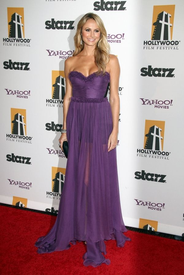 stacy keibler in Maria Lucia Hohan dress. Awesome bridesmaid dress ...