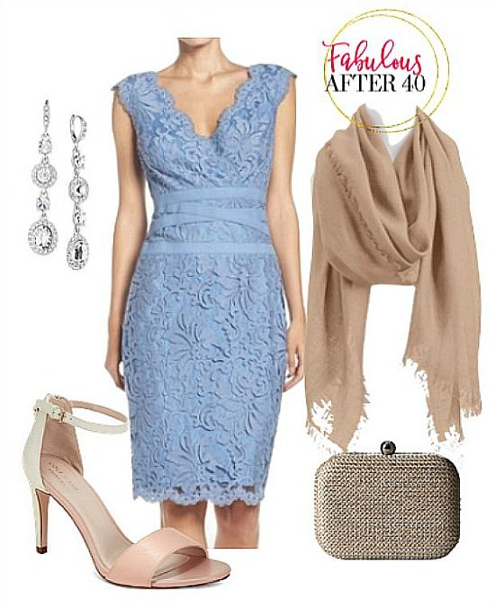 Over 40 Style Question: Can I Wear A Lace Dress to a Wedding ...