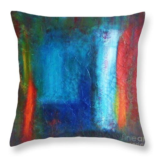Red Man Throw Pillow for Sale by Vesna Antic