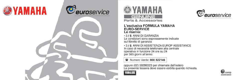 YES Card - Yamaha-Motor Italia