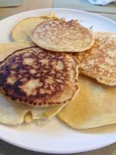 Julie's Lifestyle: Oat Bran Pancake Recipe. NOTES: easy to double or triple recipe using both yogurt and cottage cheese. Added cinnamon for more flavor.