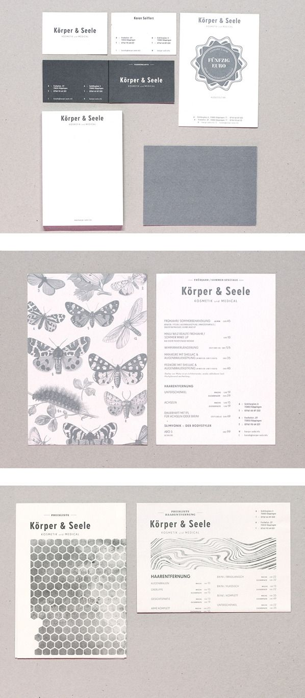 Körper & Seele Kosmetik on Behance