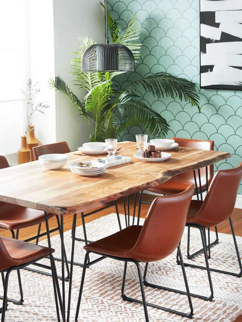 Hayden Retro Dining Rooms Dining Table Makeover Wood Dining