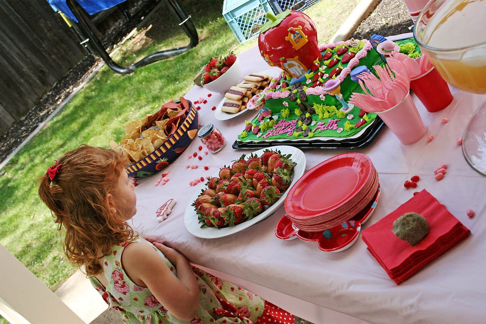 Pin by Justina Beckett on Strawberry Shortcake Party Theme