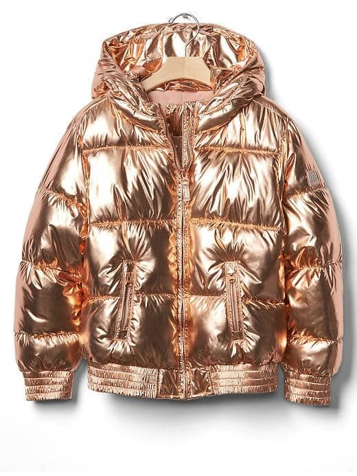 e19674134 Rose gold puffer | Accoutrements | Kids clothes sale, Puffer jackets ...