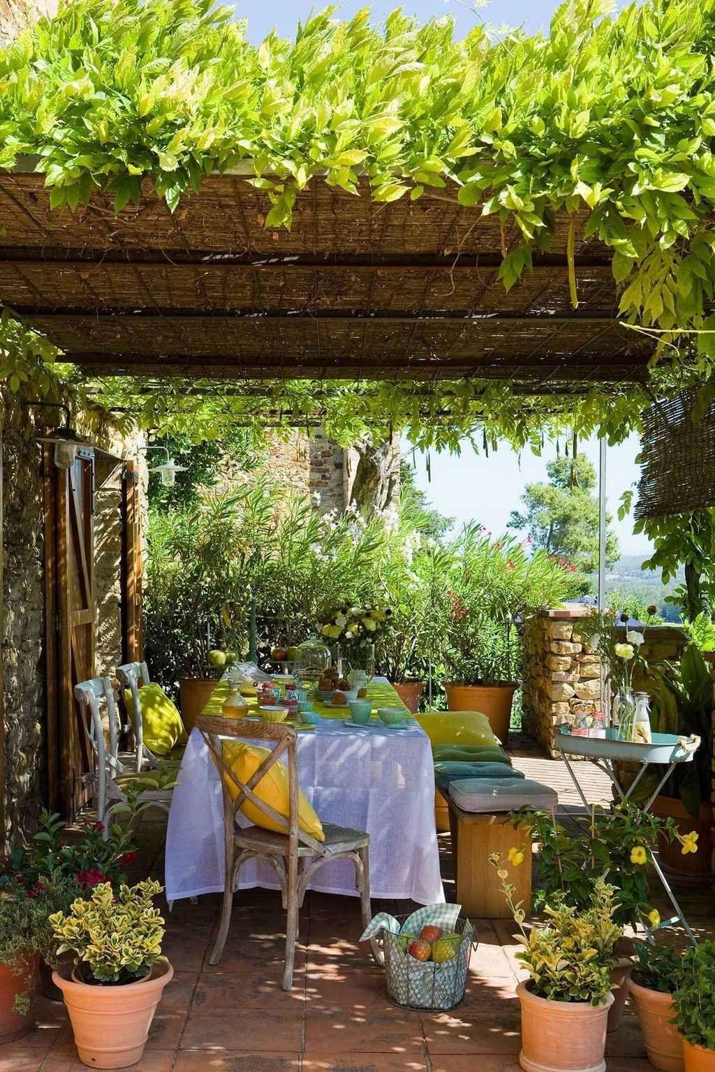 Nice 85 Cozy Backyard Patio Deck Design Ideas Https Frontbackhome Com 6209 85 Cozy Backyard Patio Deck Des Backyard Pergola Cozy Backyard Patio Garden Design