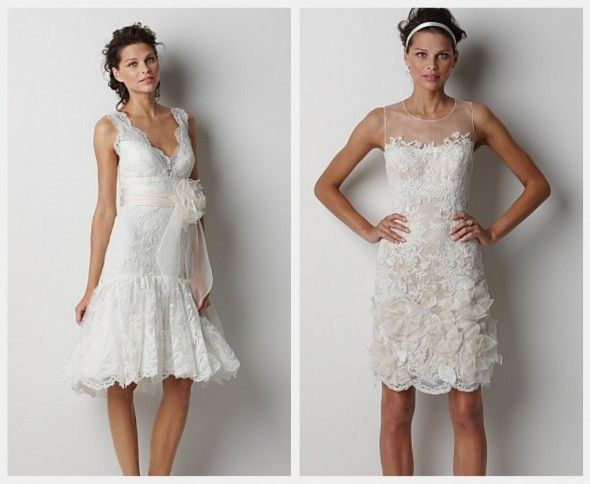 Rustic Short Wedding Dresses