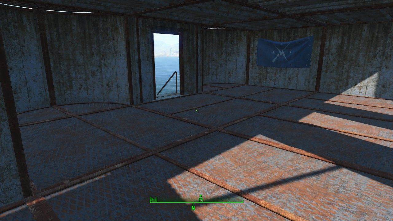Fallout 4 Settlement Ideas The Castle fill in the broken walls with
