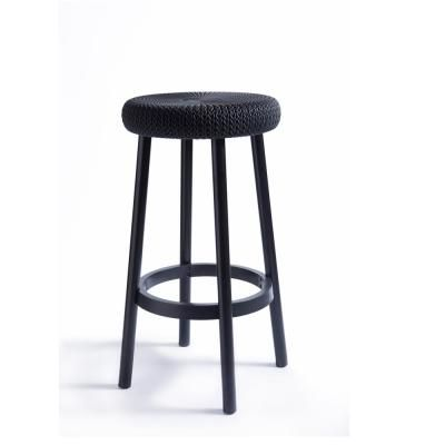 Keter Cozy Resin Plastic Outdoor Bar Stool In Gray 2 Pack