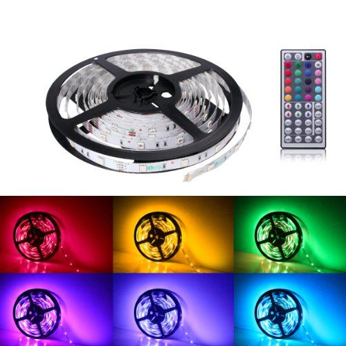 Le 12v Flexible Rgb Led Strip Light Kit Led Tape Multi Colored 150 Units 5050 Leds Non Waterpr Led Strip Lighting Rgb Led Strip Lights 12v Led Strip Lights