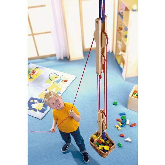 Photo of Sistema de polea Juegos de movimiento   Al aire libre   HABA – inventor para niños