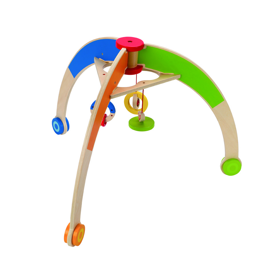 Click here for one of the Top Green Baby Gifts - My First Gym by Hape: http://kiddokorner.com/hape/my-first-gym.html $65.99