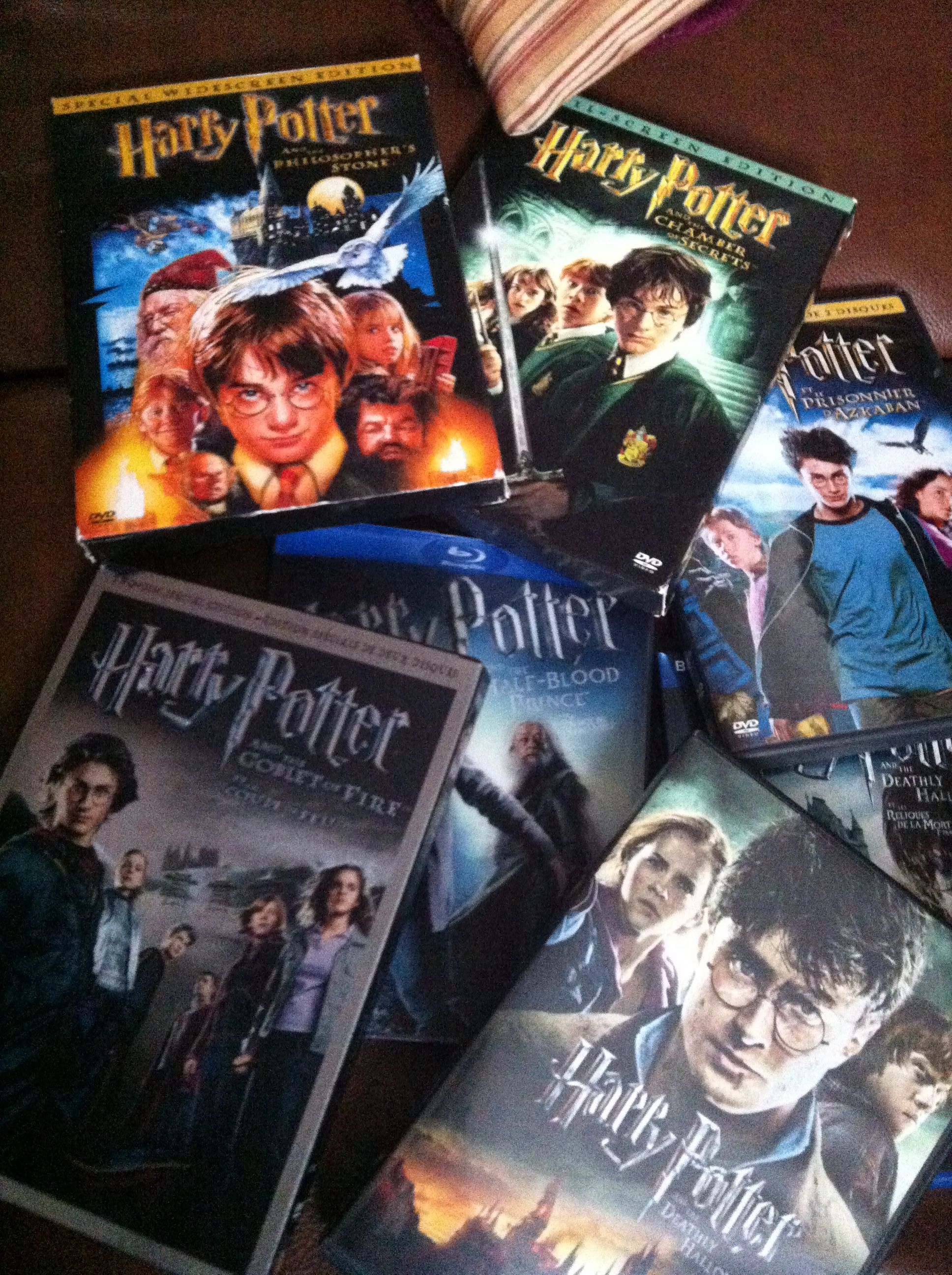 Sometimes all it takes is to watch all the Harry Potter movies during Christmas holidays !