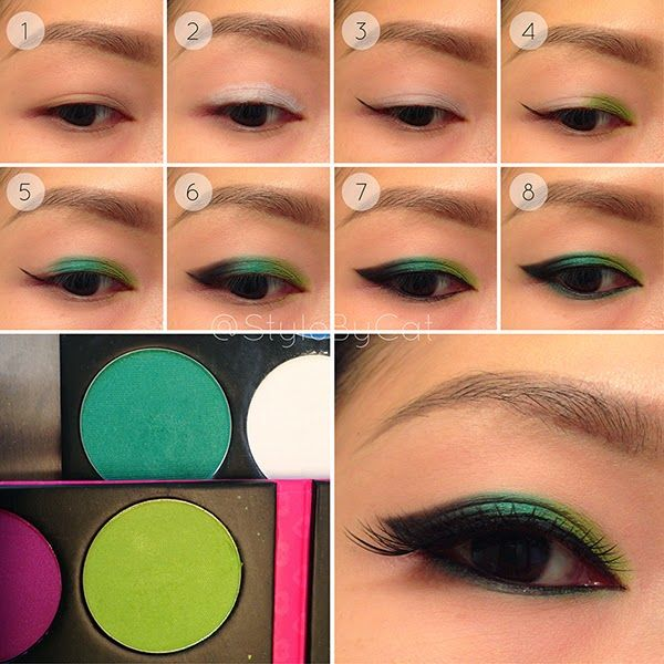 Style By Cat: Saint Patrick's Day Eyeshadow Tutorial