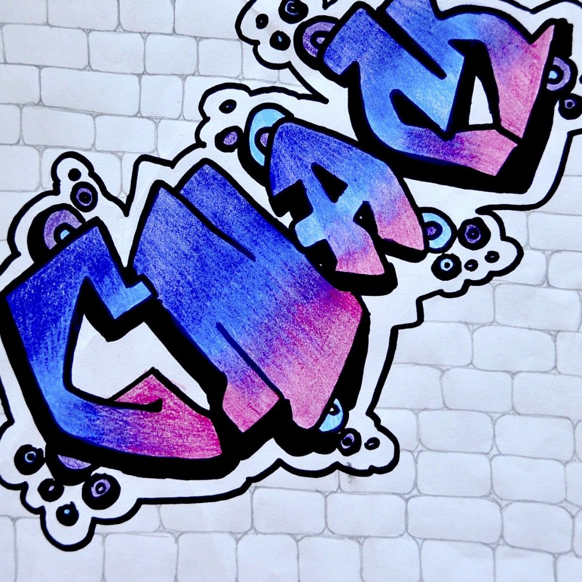 Name In Graffiti Style Graffiti Graffiti Wall Art Graffiti Styles