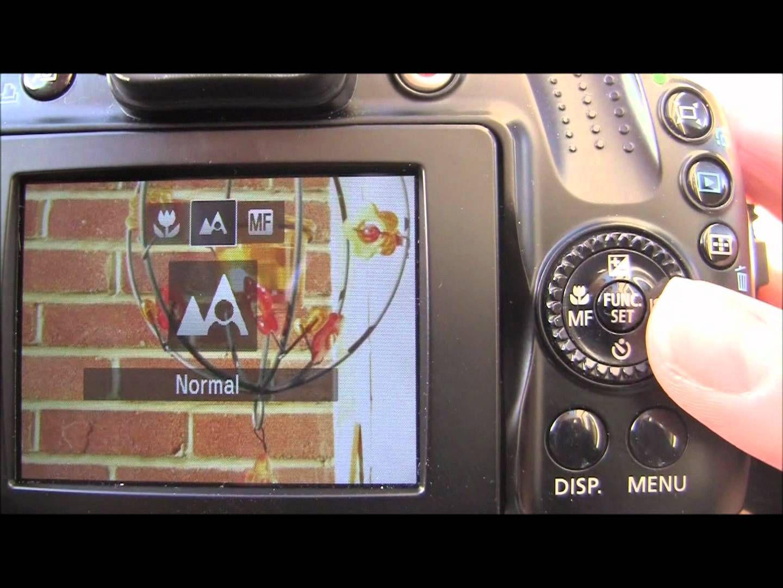Canon Powershot Sx40 Hs Tutorial Step Seven Manual Focus Camera Tutorial Powershot Canon Powershot