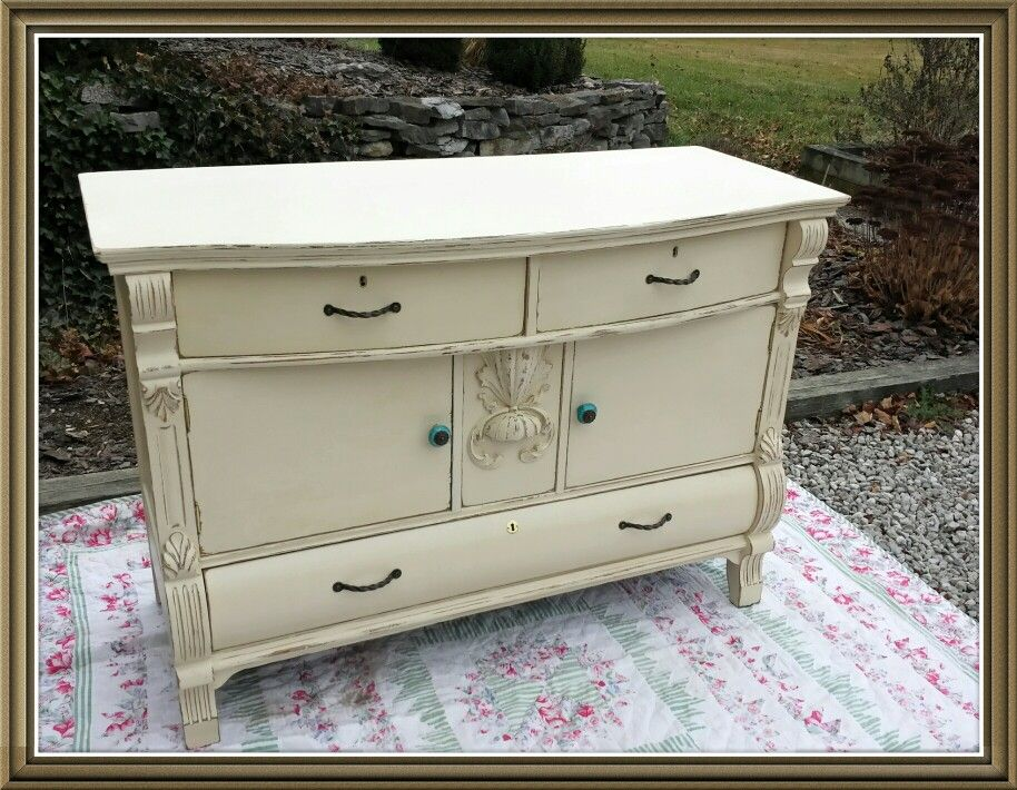 Waverly Moss Chalk Painted Furniture