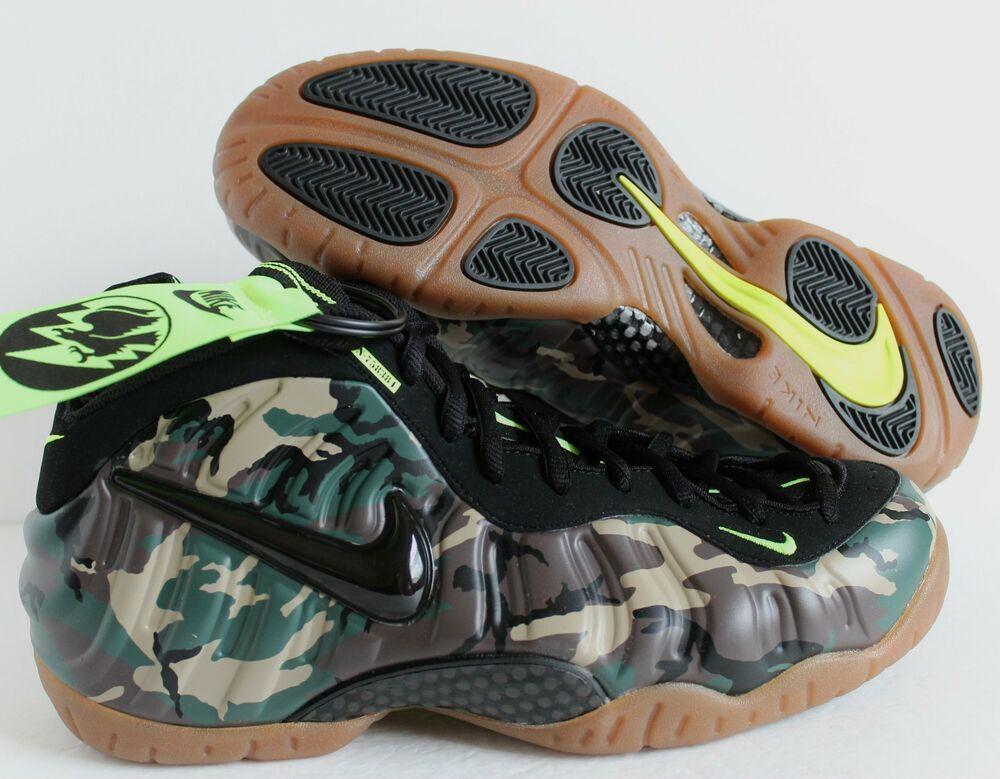 the best attitude 0a8d5 bcaed eBay  Sponsored NIKE AIR FOAMPOSITE PRO PRM LE CAMO FOREST-BLACK SZ 11  .  Visit. March 2019