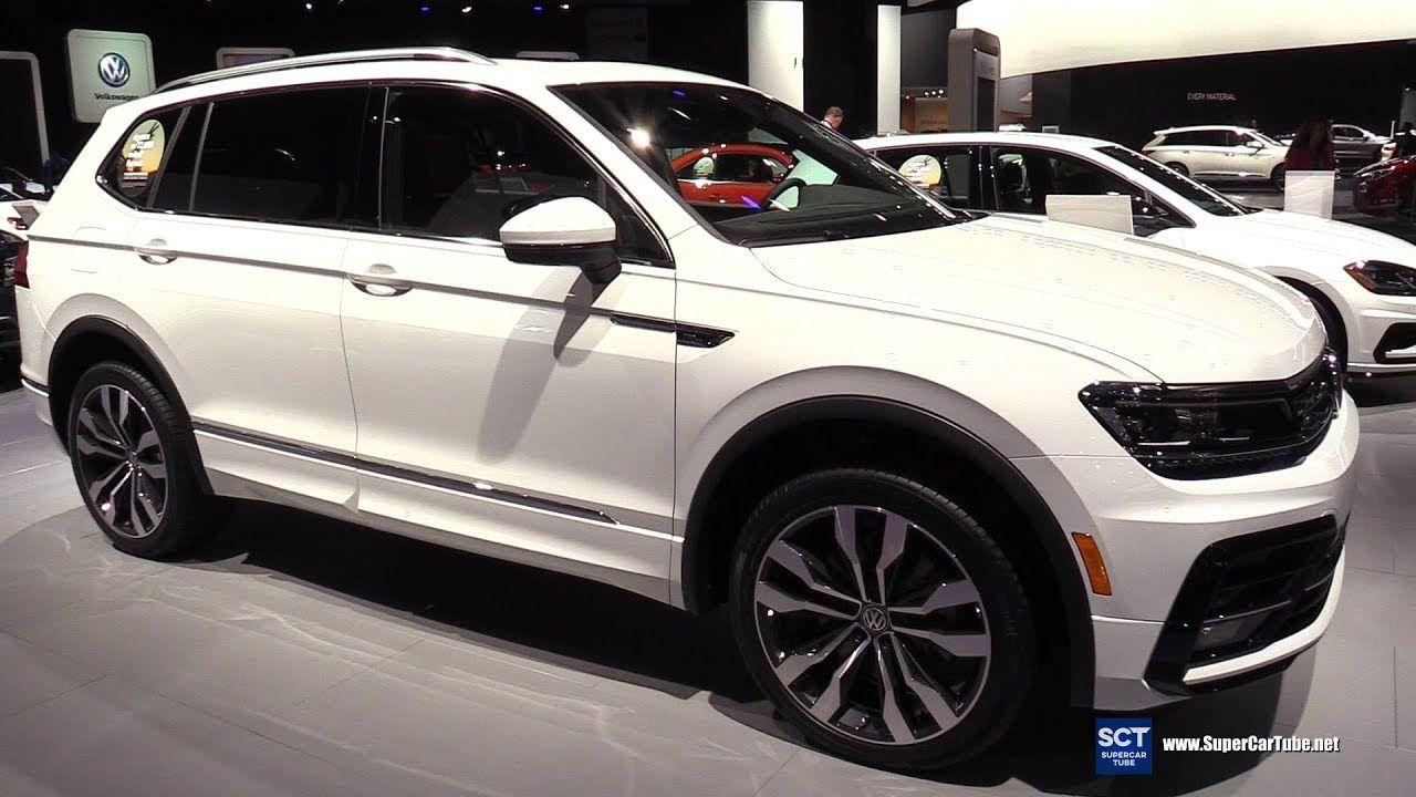 2018 Volkswagen Tiguan Tsi R Line Exterior And Interior Walkaround 2017 La Auto Show
