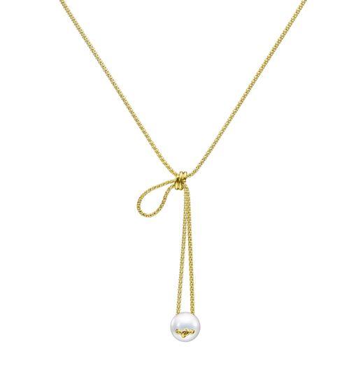 Le collier Knot M/G TASAKI