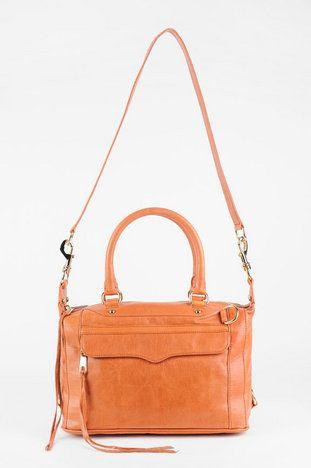 Rebecca Minkoff MAB Mini Bag with Strap in Almond $346 at www.tobi.com