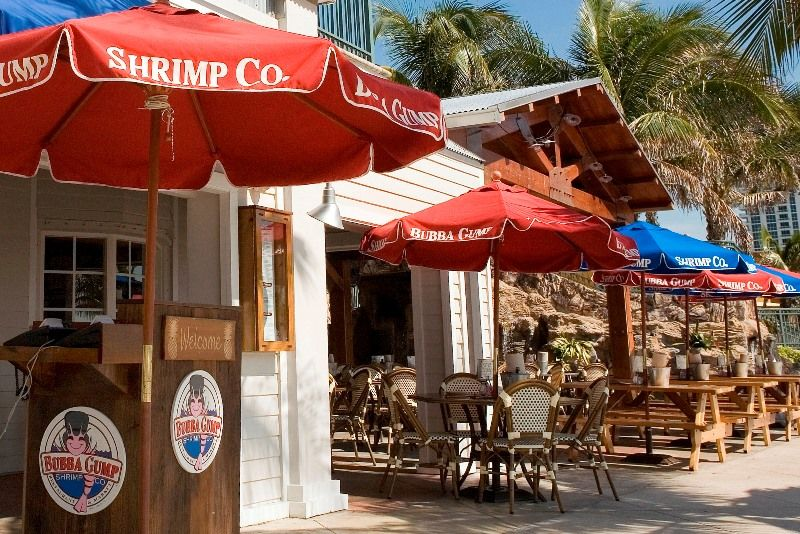 Bubba Gump 429 S Fort Lauderdale Beach Blvd 945 463 0777