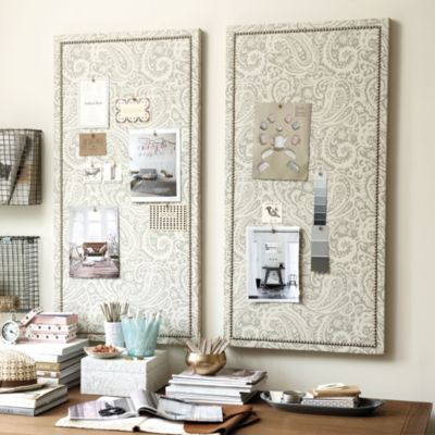 These Fabric Pin Boards From Ballard Designs Can Be Customized In