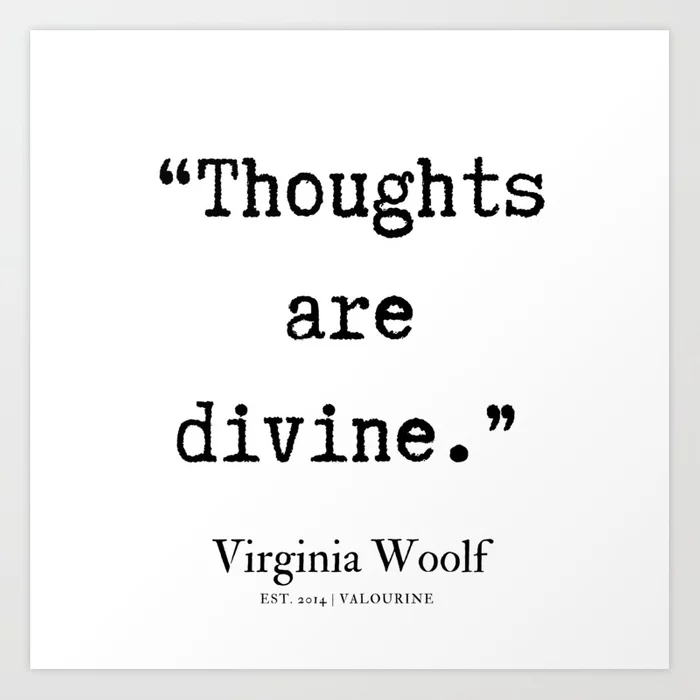 50 | Virginia Woolf Quotes| 190629 Art Print by Quotes And Sayings