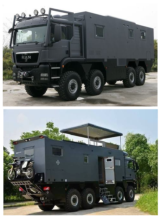MAN 8x8 Camper ARMADILLO Specialty Vehicles Ltd
