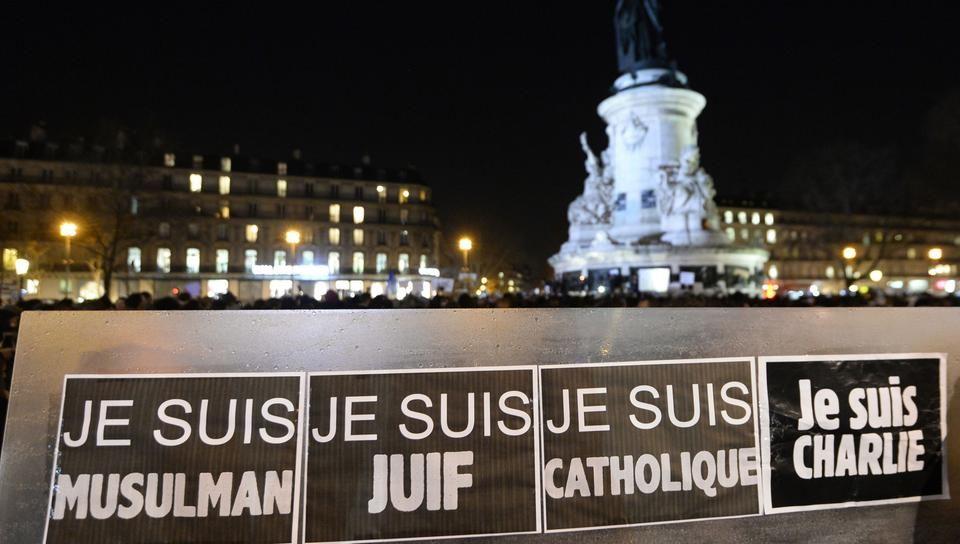 Charlie Hebdo - solidarität