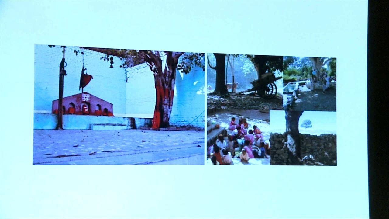 Lecture by Bijoy Jain, Studio Mumbai (IN), 2012, C-mine cultuurcentrum Genk, Belgium