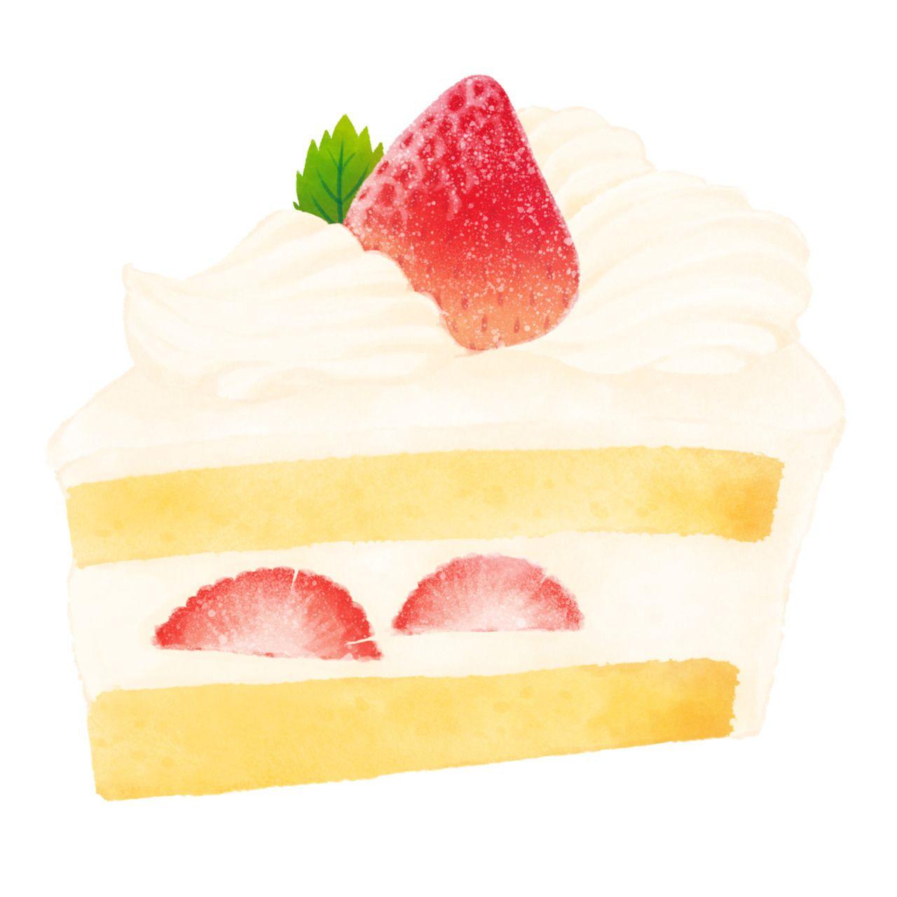 ショートケーキ Strawberryspongecake In 2019 麵包