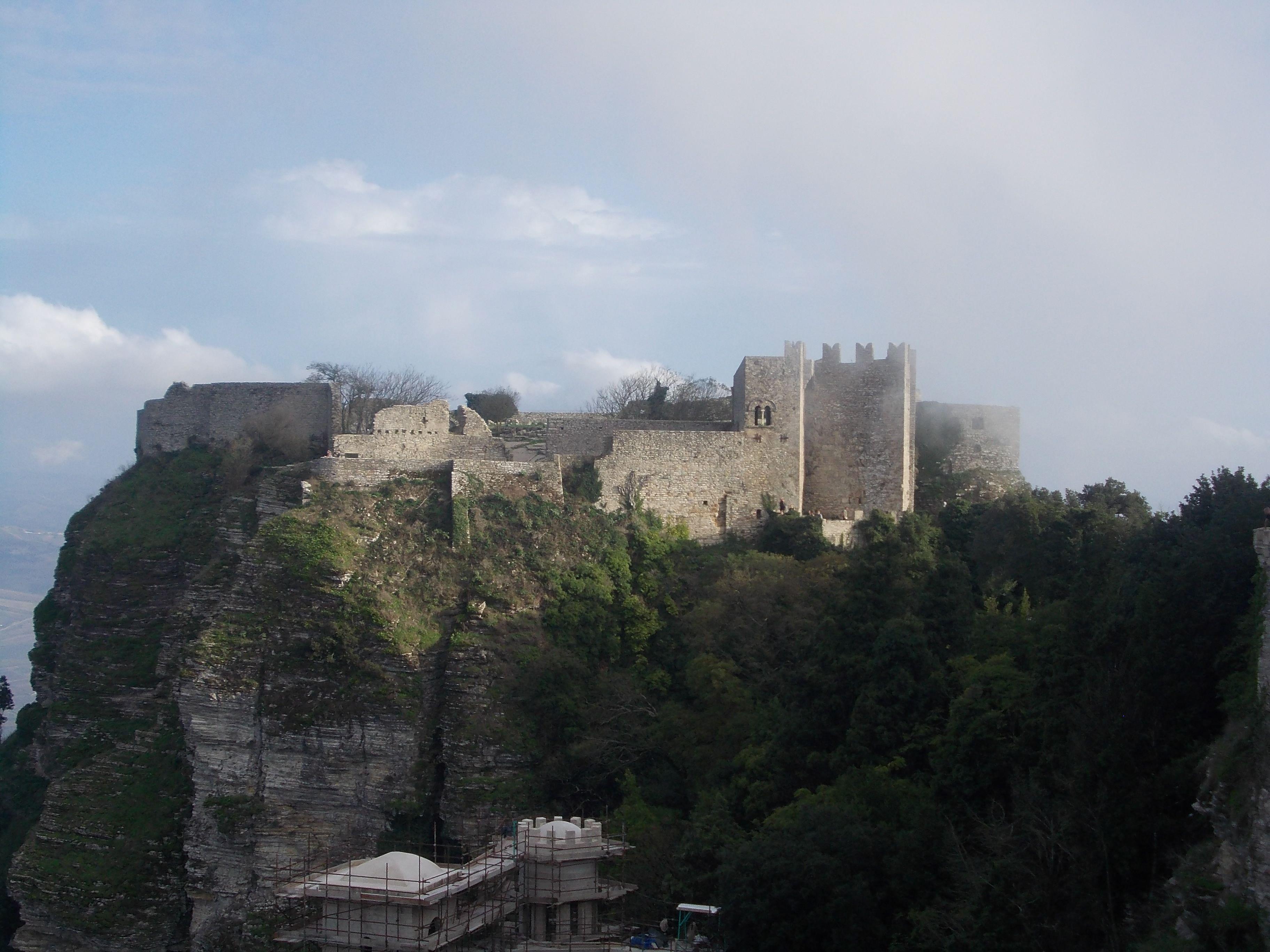 Castello Fortezza di Erice. Trapani