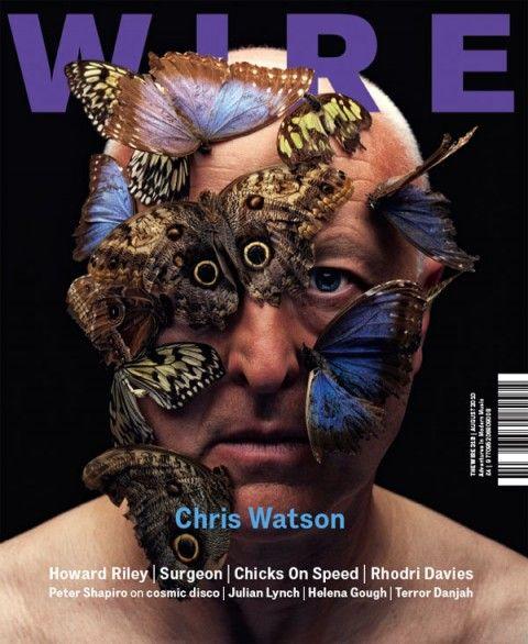 Wire magazine Chris Watson Imagery: Monarch Butterflies = Monarch mind control, One Eye symbolism